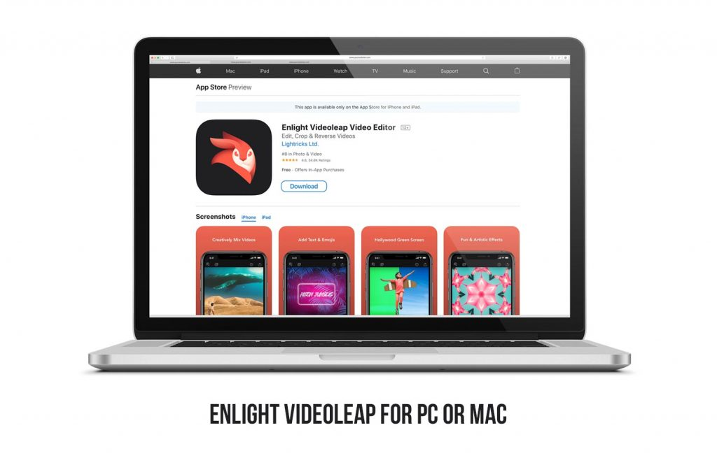 Enlight Videoleap for PC and Mac