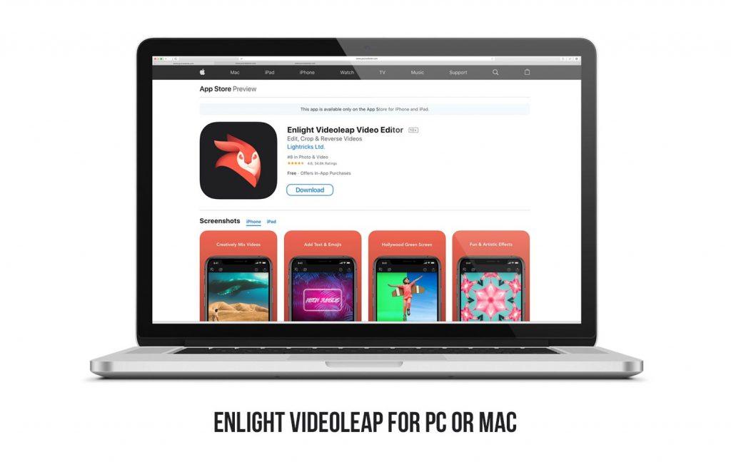 Videoleap for computer